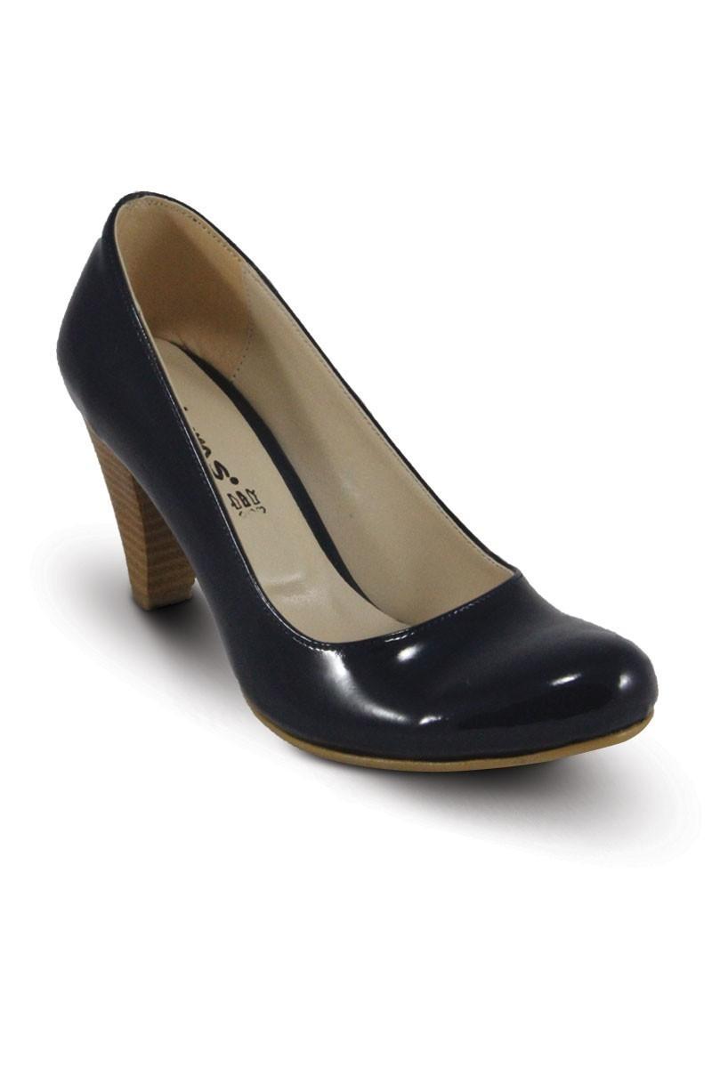 Obims Lacivert SNG-010 Bayan Topuklu Ayakkabı