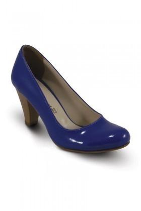 Obims Mavi SNG-011 Bayan Topuklu Ayakkabı