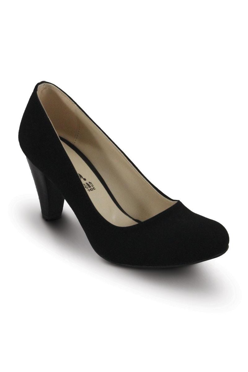 Obims Siyah SNG-012 Bayan Topuklu Ayakkabı