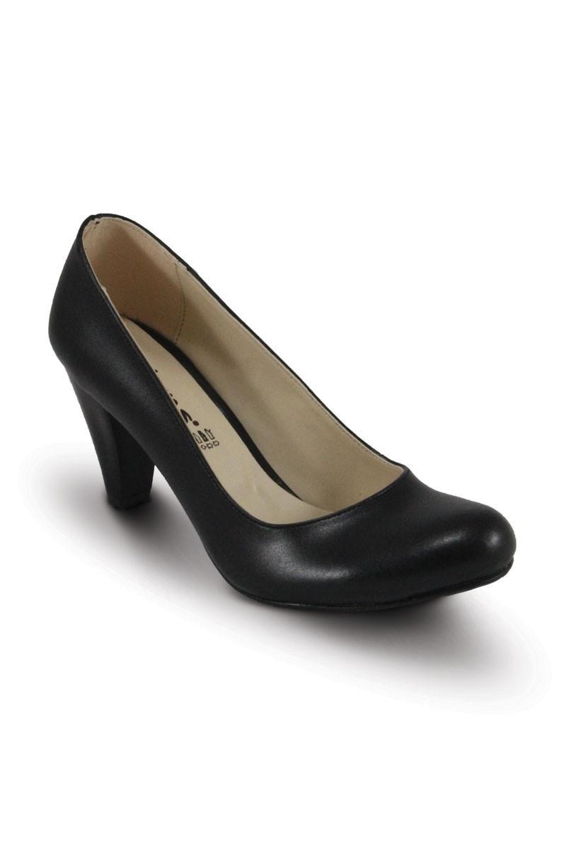 Obims Siyah SNG-014 Bayan Topuklu Ayakkabı
