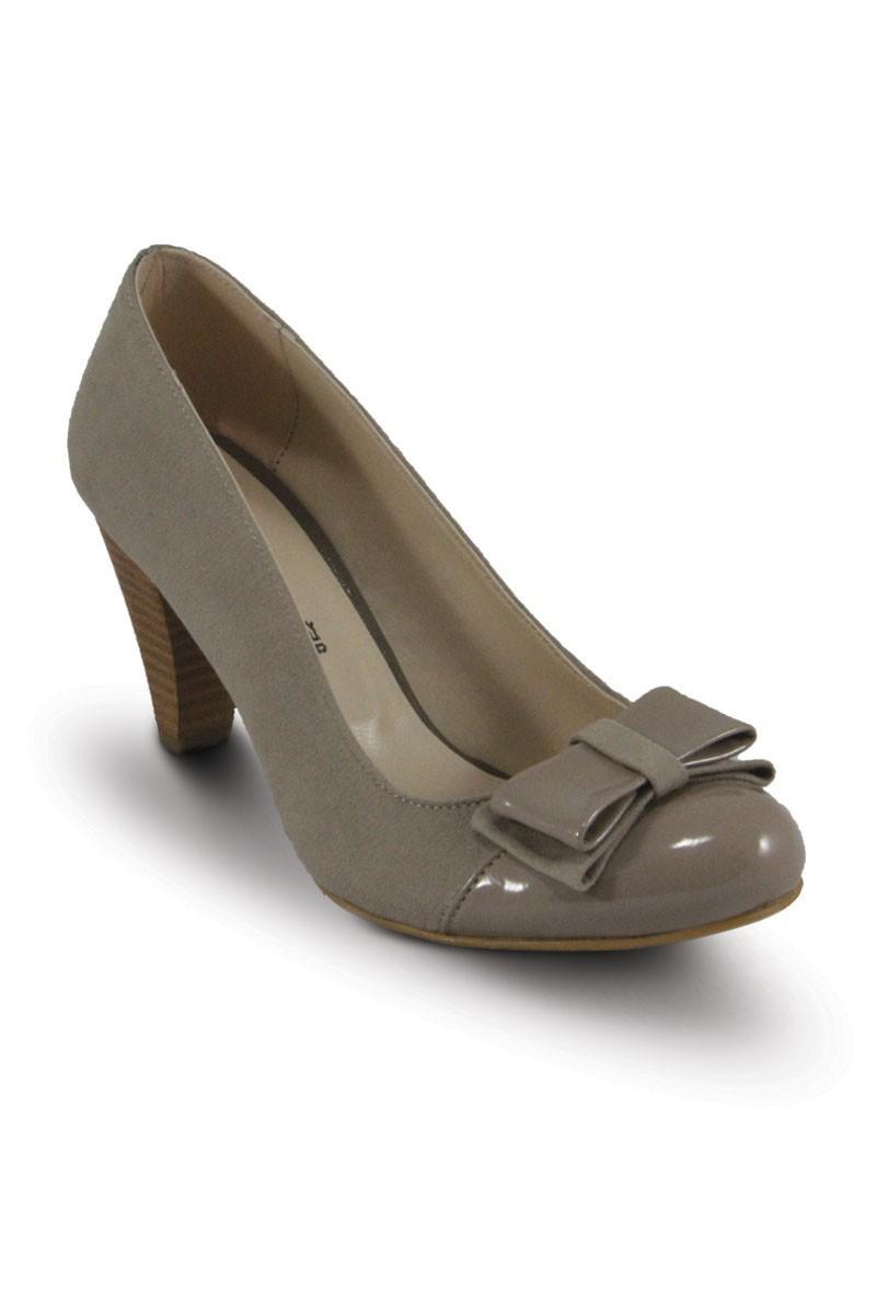Obims Kum SNG-013 Bayan Topuklu Tokalı Ayakkabı