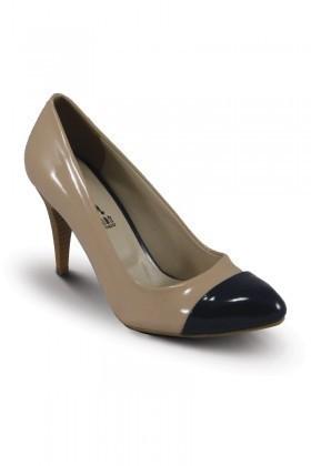 Obims Kum-Siyah SNG-017 Bayan Topuklu Ayakkabı