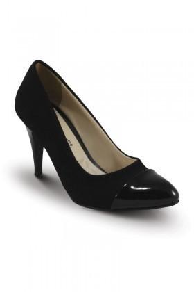 Obims Siyah-Siyah SNG-021 Bayan Topuklu Ayakkabı