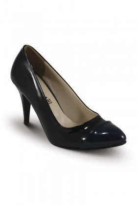 Obims Siyah-Siyah SNG-022 Bayan Topuklu Ayakkabı