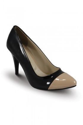 Obims Siyah-Kum SNG-023 Bayan Topuklu Ayakkabı