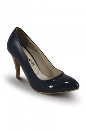 Obims Lacivert SNG-025 Bayan Topuklu Ayakkabı