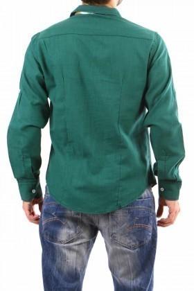 Jeans Collic Yeşil J-015 Erkek Gömlek