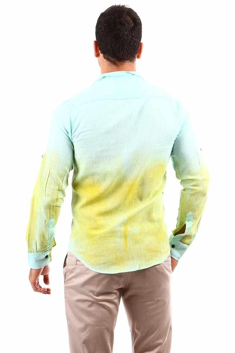 Jeans Collic Yeşil J-020 Erkek Gömlek