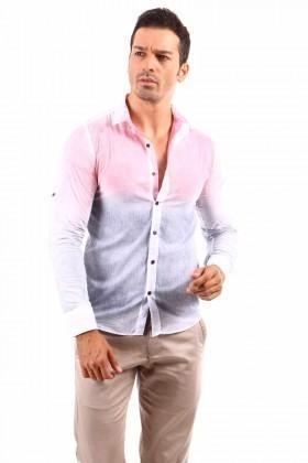 Jeans Collic Pembe J-027 Erkek Gömlek