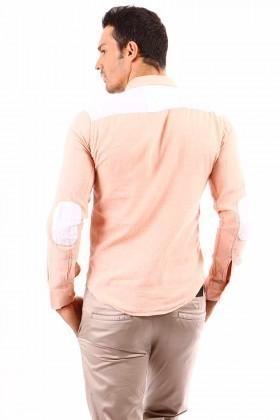 Jeans Collic Pudra J-017 Erkek Gömlek