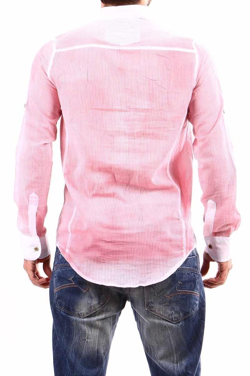 Jeans Collic Pembe J-024 Hakim Yaka Erkek Gömlek