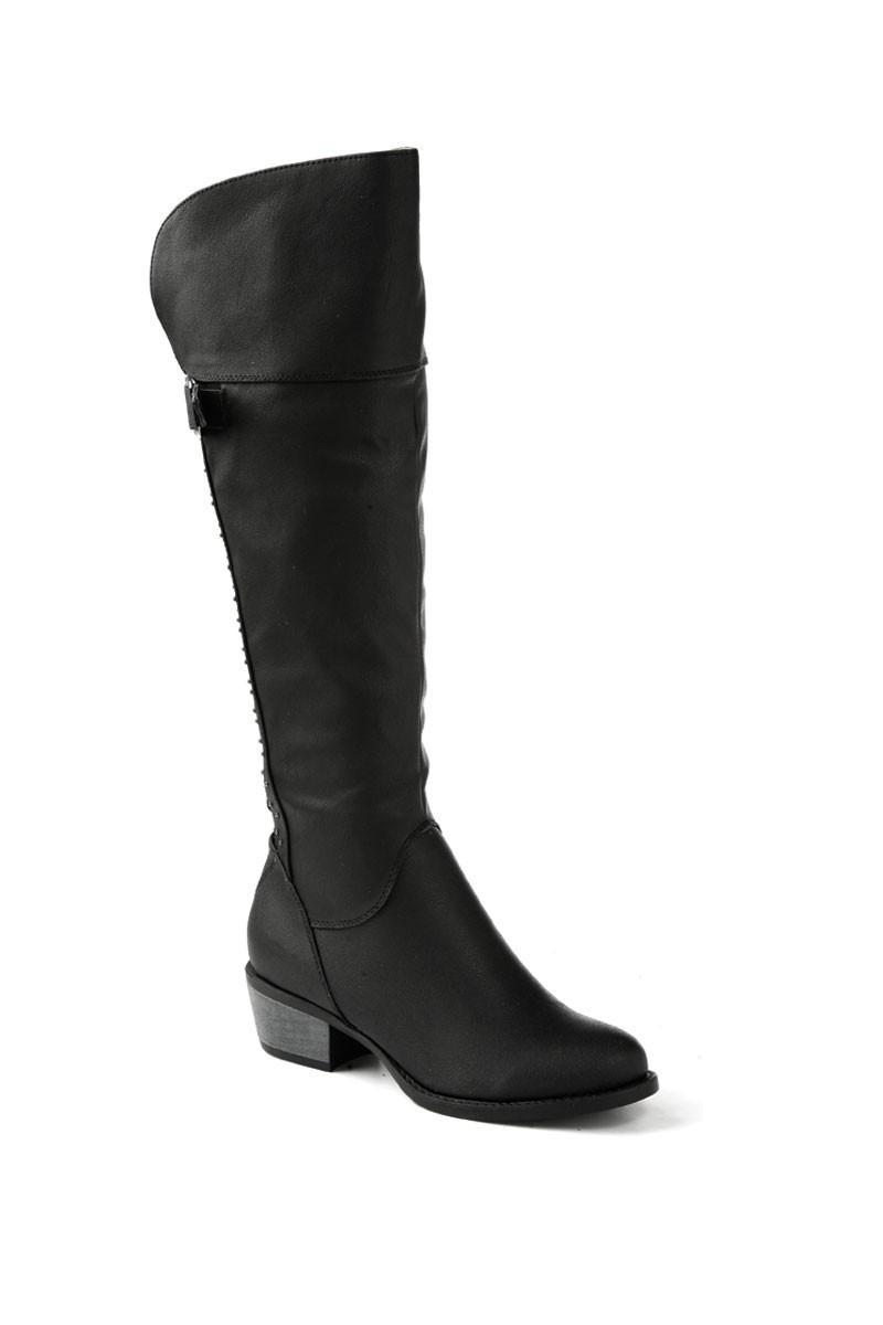 Danpe Siyah DNP-107-1 Bayan Çizme
