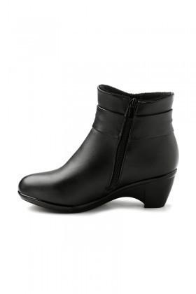Danpe Siyah DNP-60003-C4 Topuklu Bayan Bot