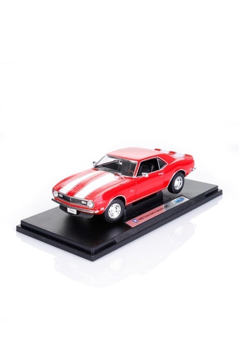 Welly Kırmızı 12553K 1968 CHEVROLET CAMARO Z28