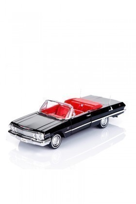 Welly Siyah 22434S 1963 CHEVROLET IMPALA CABRIO