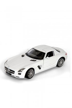 Welly Beyaz 24025B MERCEDES-BENZ SLS AMG