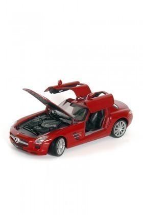 Welly Kırmızı 24025K MERCEDES-BENZ SLS AMG