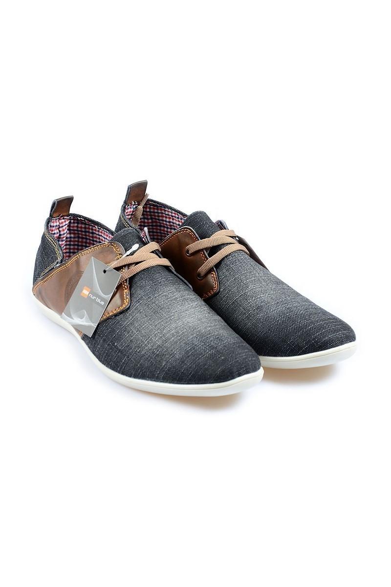 NBN Siyah NBN-212 Erkek Ayakkabı