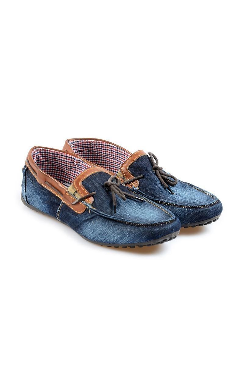 NBN Mavi-Taba NBN-93 Erkek Ayakkabı