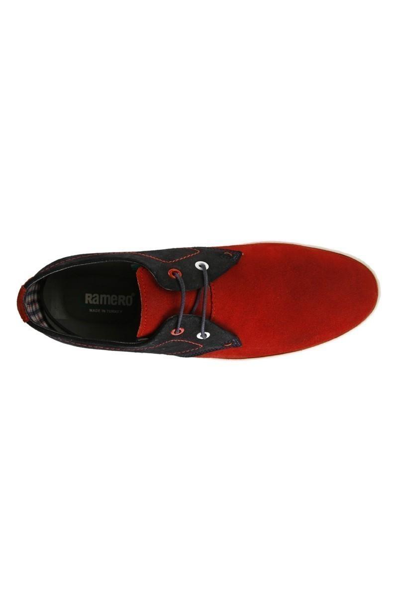 Pandew Kırmızı-Siyah RMR-007 Hakiki Deri Erkek Ayakkabı