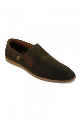 Pandew Haki ZBD-15 Hakiki Deri Erkek Ayakkabı
