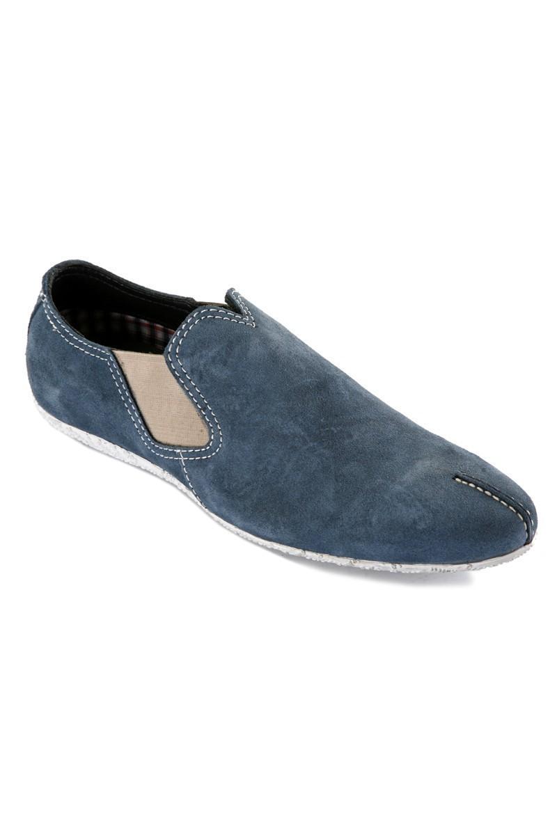 Pandew Mavi RMR-010 Hakiki Deri Erkek Ayakkabı