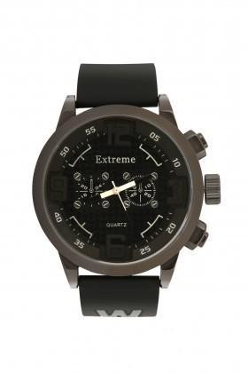 Extreme Siyah EXT-038 Erkek Kol Saati