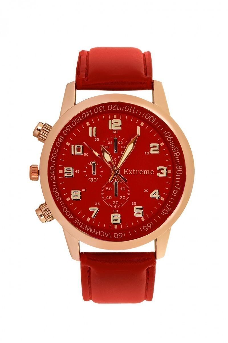 Extreme Kırmızı EXT-036 Erkek Kol Saati
