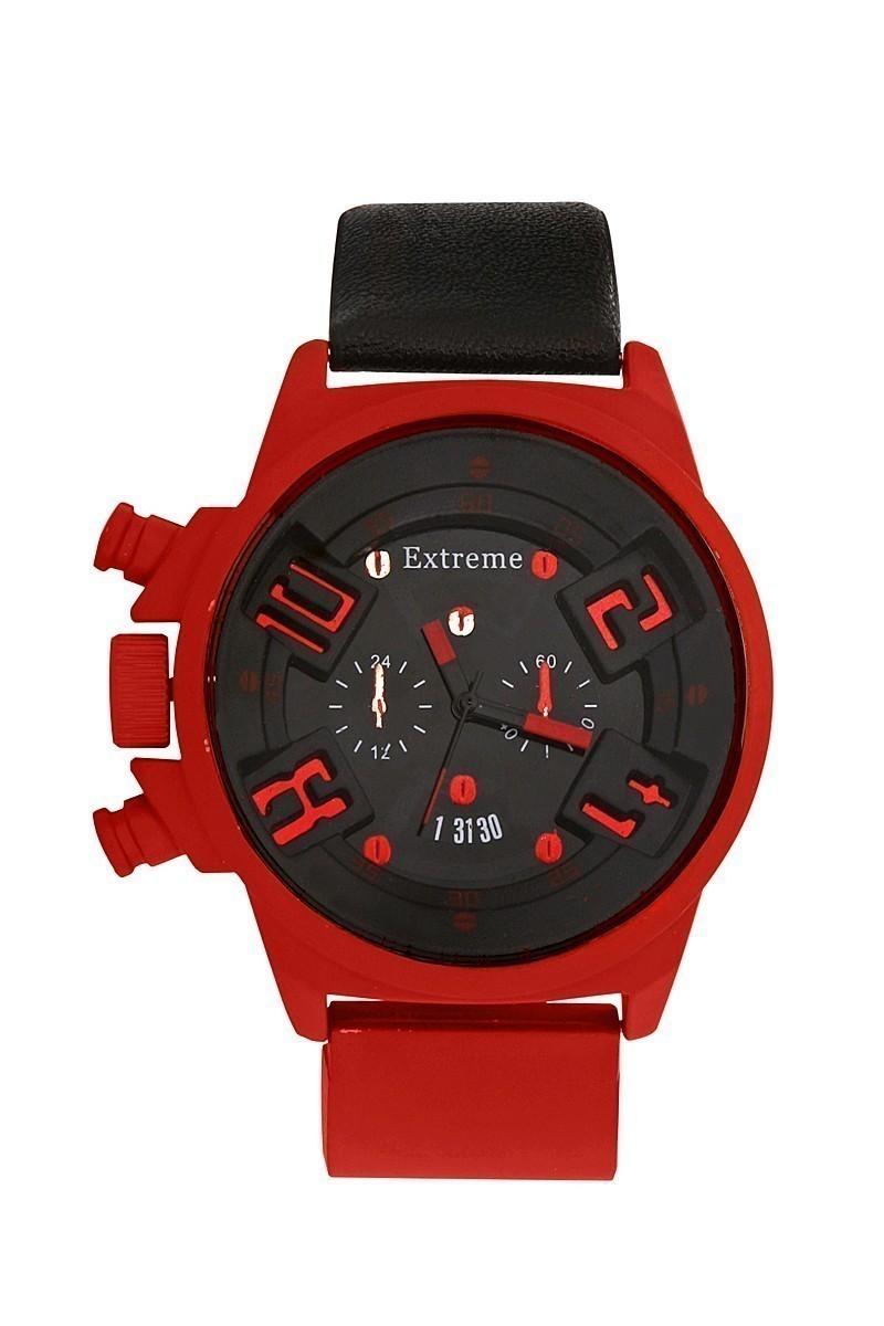 Extreme Kırmızı EXT-016 Erkek Kol Saati