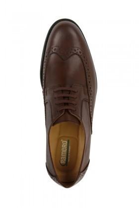 Pandew Kahverengi RMR-301 Hakiki Deri Erkek Klasik Ayakkabı