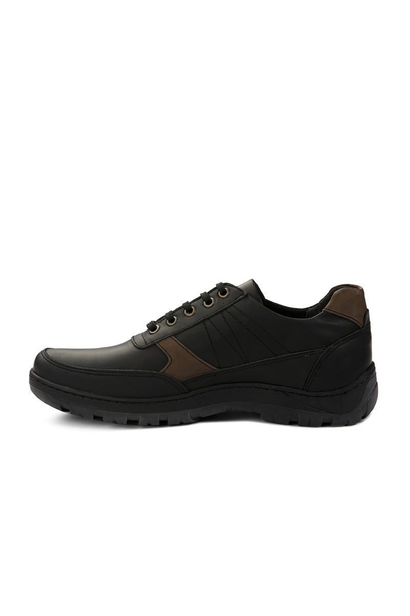 Pandew Siyah RMR-4027 Hakiki Deri Erkek Ayakkabı