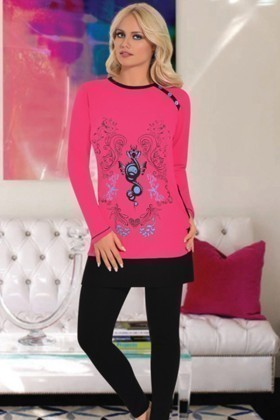 Polcan PLCN-3413 Bayan Pijama Takımı