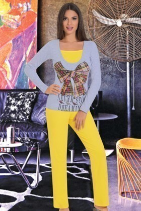 Polcan PLCN-3446 Bayan Pijama Takımı