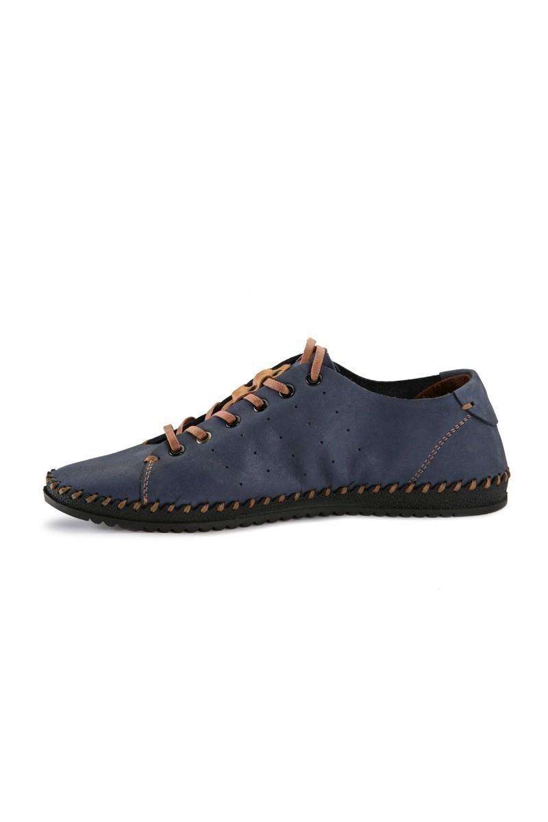 Pandew Mavi PNDW-013 Hakiki Deri Erkek Ayakkabı