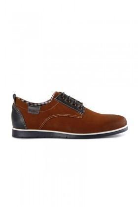 Pandew Taba-Füme RMR-7057 Hakiki Deri Erkek Ayakkabı