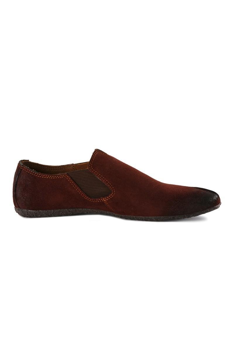 Pandew Bordo RMR-1408 Hakiki Deri Erkek Ayakkabı