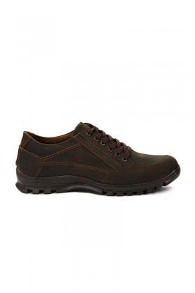 Pandew Kahverengi PNDW-120-1 Hakiki Deri Erkek Ayakkabı