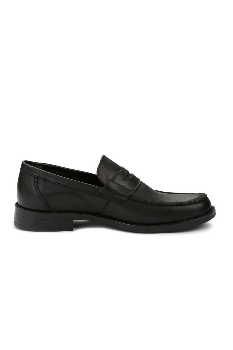 Pandew Siyah RMR-022 Hakiki Deri Erkek Ayakkabı