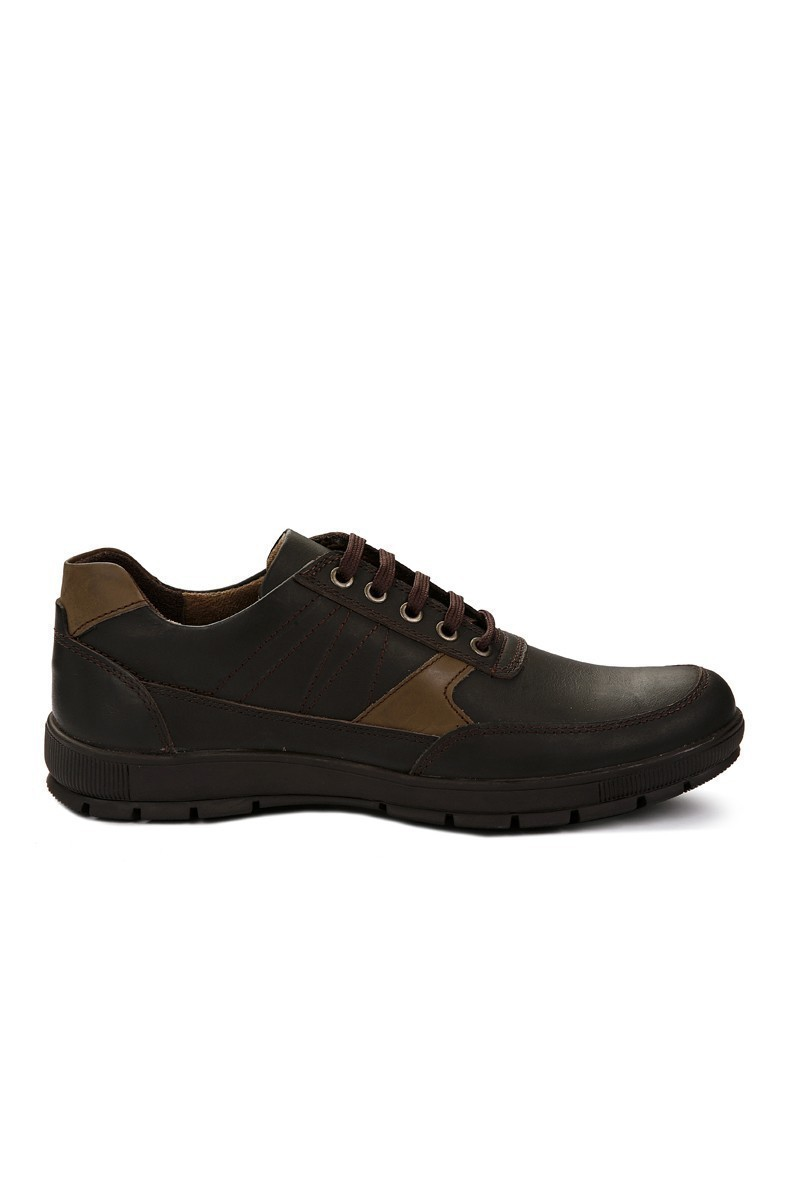 Pandew Kahverengi RMR-4027 Hakiki Deri Erkek Ayakkabı