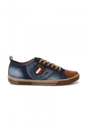 NBN Mavi NBN-88 Erkek Ayakkabı