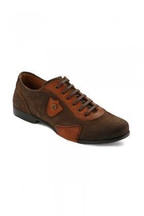 Pandew Kahverengi-Taba PNDW-155 Hakiki Deri Erkek Ayakkabı