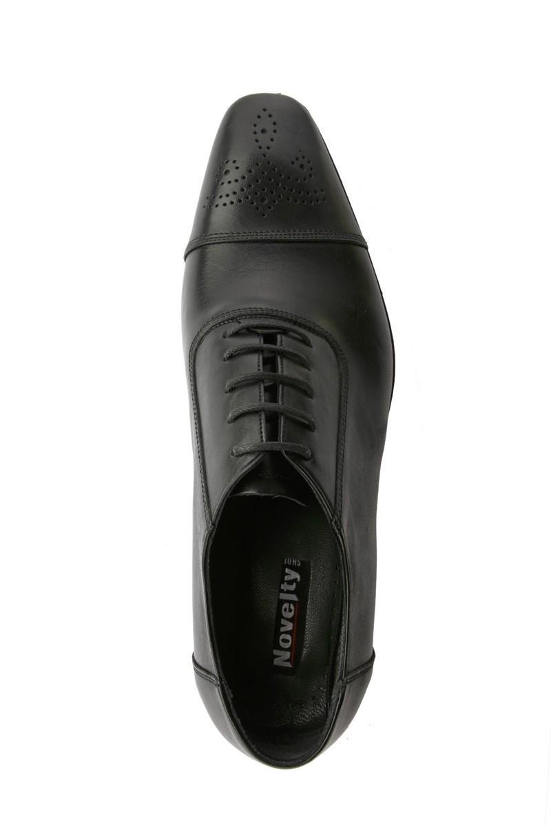 Novelty Siyah NVLTY-201 Hakiki Deri Erkek Klasik Ayakkabı