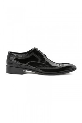 Pandew Siyah RMR-142-RUGAN Erkek Rugan Ayakkabı