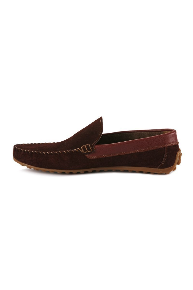Pandew Bordo PNDW-FR-SUET Hakiki Deri Erkek Ayakkabı
