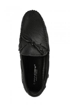 Pandew Siyah PNDW-FR-BAG Hakiki Deri Erkek Ayakkabı