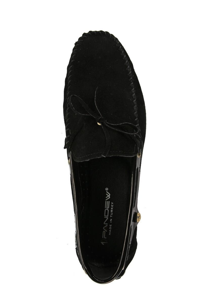 Pandew Siyah PNDW-FR-SUET-BAG Hakiki Deri Erkek Ayakkabı