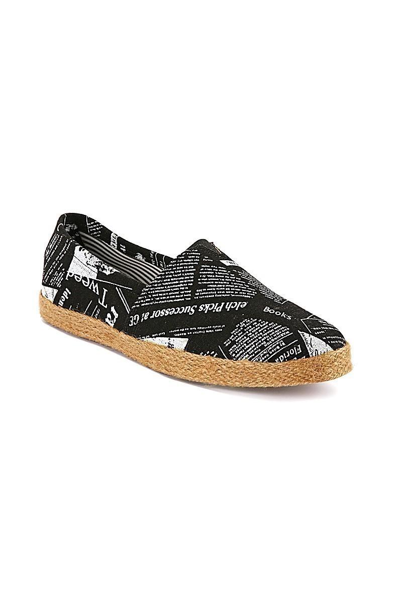 Mariter Siyah MRTR-001-GAZETE Erkek Günlük Ayakkabı