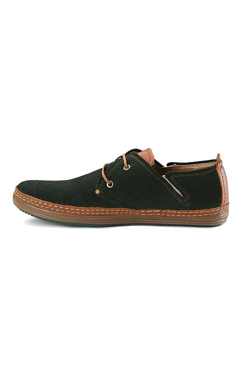 Pandew Yeşil PNDW-890 Hakiki Deri Erkek Ayakkabı