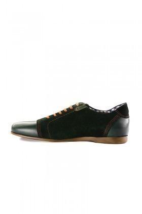 Pandew Yeşil RMR-RMY Hakiki Deri Erkek Ayakkabı