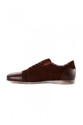Pandew Bordo RMR-RMY Hakiki Deri Erkek Ayakkabı